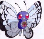 A Happy Birthday Butterfree by Clavis-Salomonis