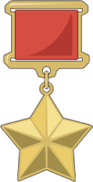Hero of the USSR medal by fORCEMATION