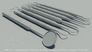 dental tools_clay by rocneasta