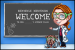 Commission - Science Class Welcome Banner by TouchedVenus