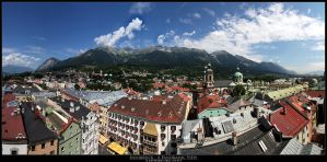 Innsbruck - a Panoramic View by stetre76