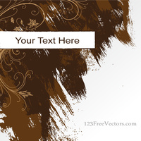 Vector Abstract Grunge Background Banner by 123freevectors