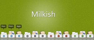 stack icons - Milkish by ProiektHat