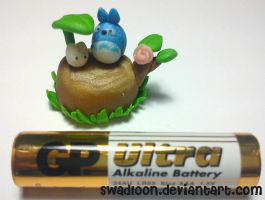 Mini Totoro Decoration- Update by Swadloon