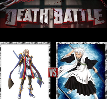 DEATH BATTLE 10 Jin Kisaragi vs Toshiro Hitsugaiya by CannedMadMan66