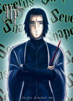 HP - Severus Snape by staypee