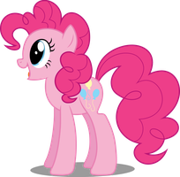Vector #113 - Pinkie Pie #7 by DashieSparkle
