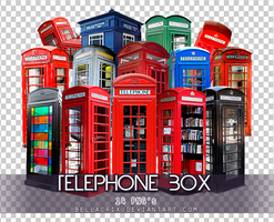 Telephone Box PNGs by Bellacrix