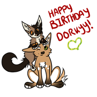 Happy Birthday D0RKYY!!! by ClosetMentalPatient