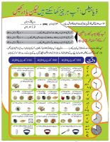 Ideal Food chart front by shehbaz
