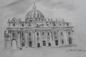 St. Peter's Basilica by migzmiguel08