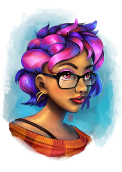 New Student Bust by Spikings