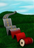 Ribbon of Road by Verenth