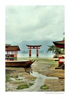 Itsukushima Shinto Shrine IV by rikachu426