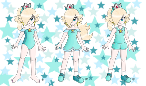Rosalina In Her Various Sport Outfits!! by Peach-X-Yoshi