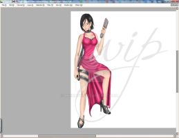 Resident Evil - WIP 2 by Reenave