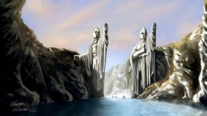 Argonath - The Lord of the Rings by svWt123