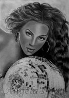BEYONCE by AngelasPortraits