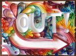 Out - Paper Quilling by Abstract-Anomaly