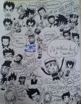Doodle Madhouse.... by dbzultrafan312000