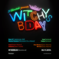 Witchys bday 2010 Flayer by rootout