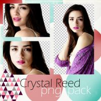 Crystal Reed PNG PACK (1) by ghostocean