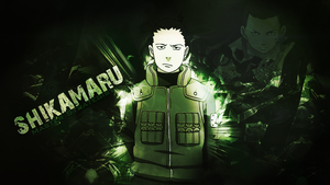 Shikamaru (Naruto) Desktop wallpaper by WHU-Dan