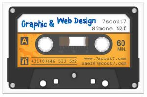 My current business card by 7scout7