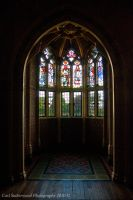 Cardiff Castle Arch Window by Rovanite