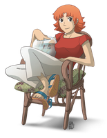 Ponyo 24 old by patronustrip