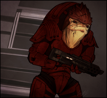 ME: Wrex by Weissidian