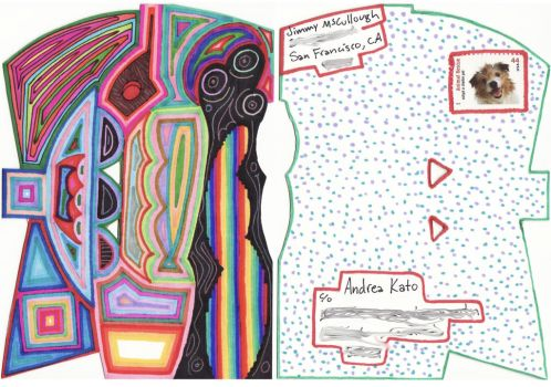 Mailart to Andrea Kato 3 by JimmyMcCullough