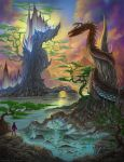 Dragon Crystal Cove by artsoldier77