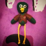 Don't Hug Me I'm Scared - Green Guy Plushie by Jack-O-AllTrades