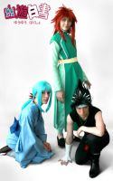Cosplay: Yu Yu Hakusho Group by Risachantag