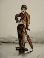 Charlie Chaplin by paintmyfaceoff