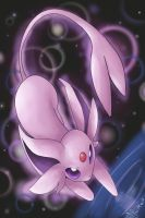 Espeon by Shadowfoxmoon