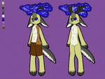 Space Deer adoptable - 100 points - OPEN by Artistonfire