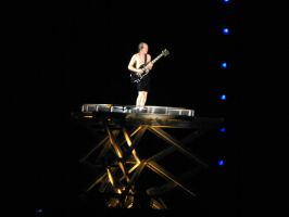 Angus Young Rises up by Shame-On-The-Night