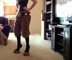 Faun Costume Progress by PorrimPyrope
