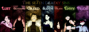 The Seven Deadly Sins by tmaC-sHinigami