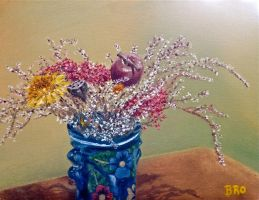 First Still Life with Oil Paint by browens13