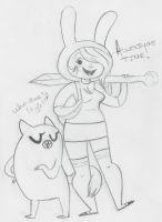 Fionna and Cake by ClassyChassiss