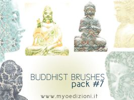 Photoshop Buddhist Pack 7 by lotus82