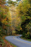 The Blue Ridge Parkway by Uzumate