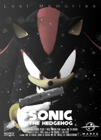 Sonic The Hedgehog Movie (fake) Poster : Shadow by DjSMP