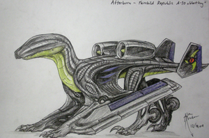Afterburn -  A-10 Aerosaur by Hydrothrax