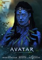 Avatar Cosplay by WhiteRavenCosplay