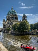 Berlin Cathedral Water Side II by pingallery