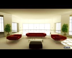 3d Interiors  with MR by AliNaser